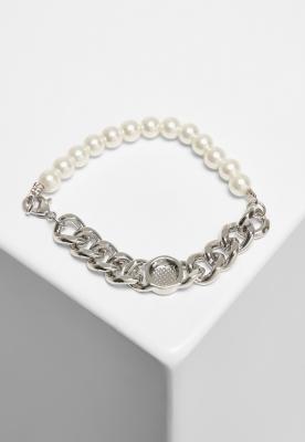 Pearl Flat Chain Bracelet Urban Classics