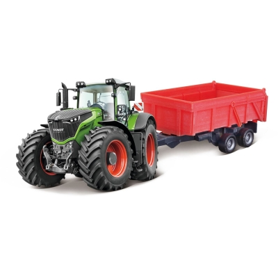 Burago Tip Tractor