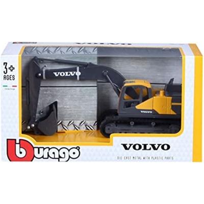 Burago Volvo Excavator Vehicle
