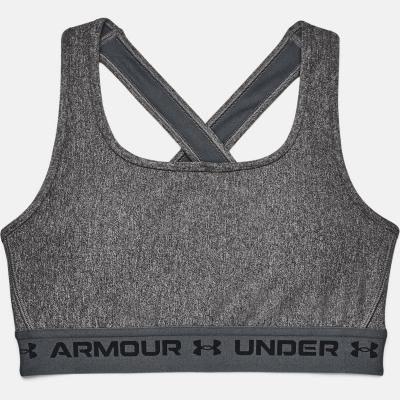 Under Armour Mid Crossback Bra pentru Femei