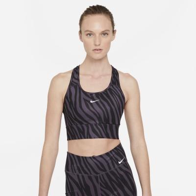 Nike Swoosh Icon Clash Medium-Support 1-Piece Sports Bra pentru femei