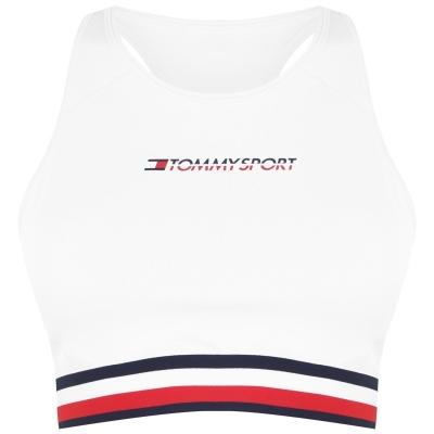 Tommy Sport Tommy Striped Sports Bra