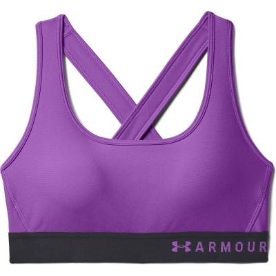Under Armour Mid Crossback Sports Bra pentru femei