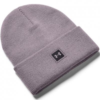 Under Armor Truckstop winter hat gray violet 1356707 585 Under Armour