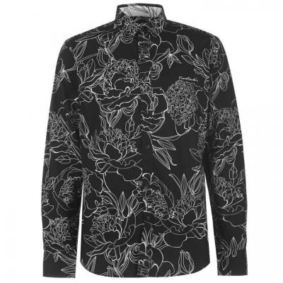 Camasi maneca lunga Pierre Cardin Large Floral Print pentru Barbati