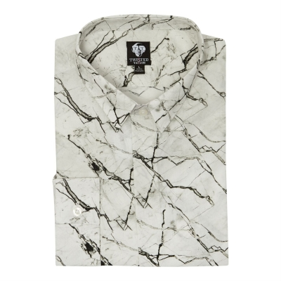 Camasi maneca lunga Twisted Tailor Marble