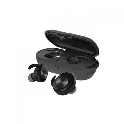 Casti Telefon Cu Bluetooth Tinderala J3s Cu Microfon, Wireless Fara Fir, Powerbank 250 Ma, Rezistente La Apa Ipx4, Microfon Incoporat, Compatibilitate Universal, Negru