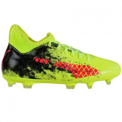 Ghete fotbal Puma Future 18.3 FG AG Fizzy 104328 01