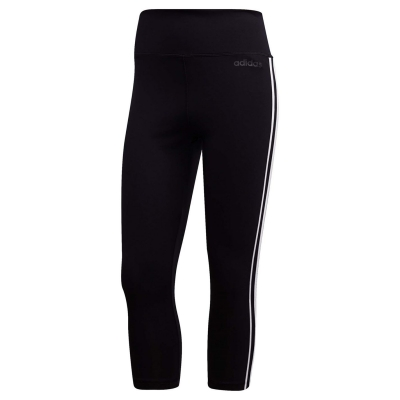 Colanti adidas Design 2 Move 3 Stripes Three Quarter Training pentru femei
