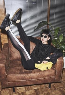 Colanti Tech Mesh Striped Pocket pentru Femei Urban Classics