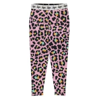 Colanti Hype Pink Disco Leopard pentru Copil