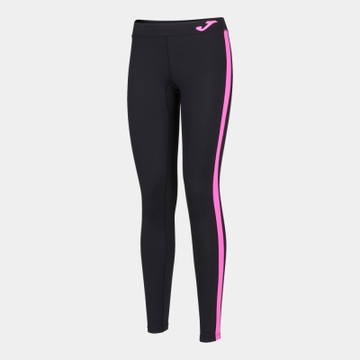 Ascona Long Tight Black-fluor Pink Joma
