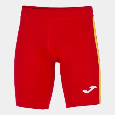 Elite Vii Short Tight Red-yellow Joma