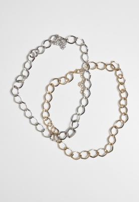 Big Classic Necklace 2-Pack Urban Classics