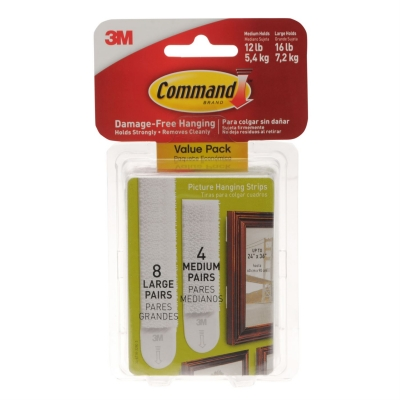 Command Value Pack Hold Strips