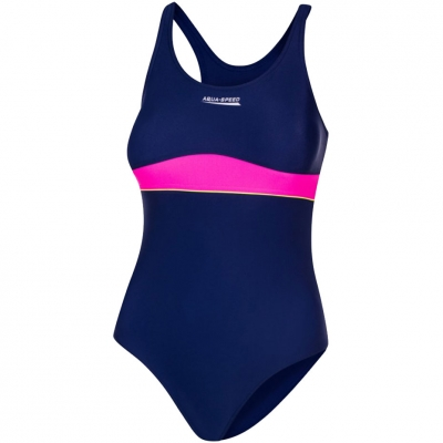 Costum Inot Aqua-Speed ​​Emily for navy blue-pink col. 47 Copil