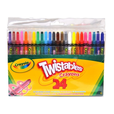 Crayola 24 Twistable Crayons