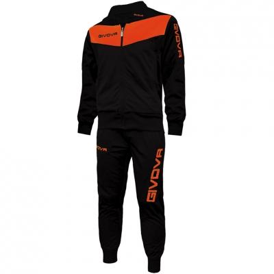 Dres Givova Visa black-orange fluo