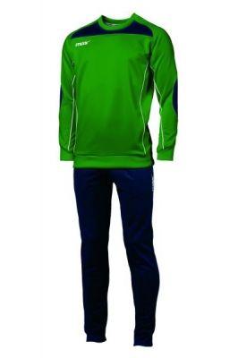 Echipament antrenament Isernia Verde Blu Max Sport