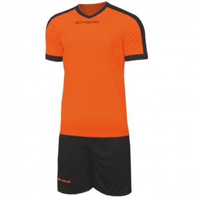 Echipament fotbal KIT REVOLUTION Givova portocaliu negru