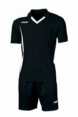 Echipament fotbal Monviso Nero Bianco Max