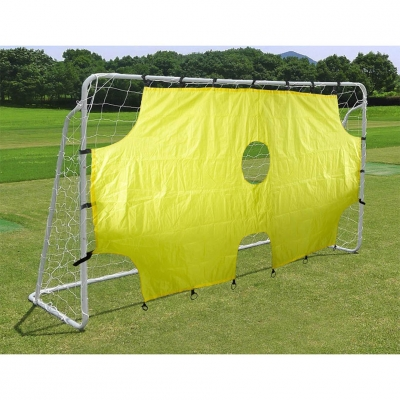 Enero football goal with a net and a guarding shield 290x165x90cm 1006291