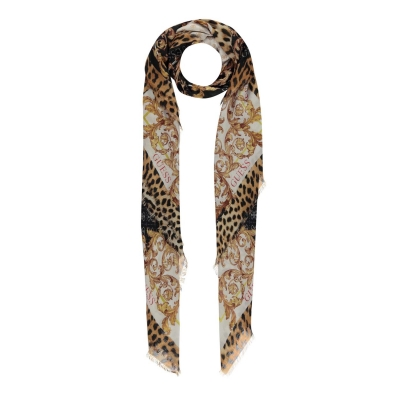Guess Guess Leopard Scarf
