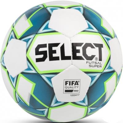 Minge Fotbal Select Futsal Super FIFA 2018 white 14296