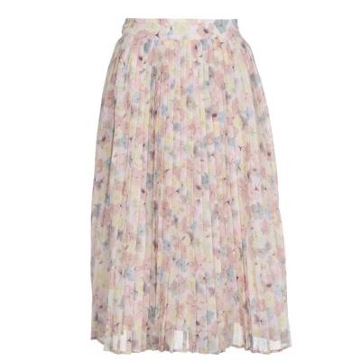 NA-KD Layered Pleated Skirt