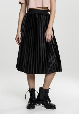 Velvet Plisse Skirt pentru Femei Urban Classics