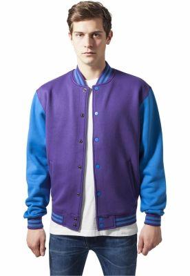 2-tone College Sweatjacket Urban Classics
