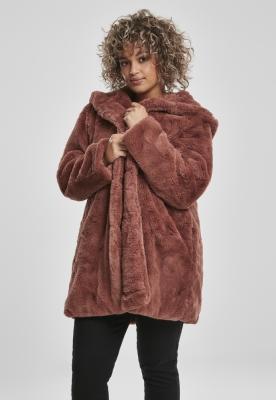 Geaca Hooded Teddy pentru Femei Urban Classics