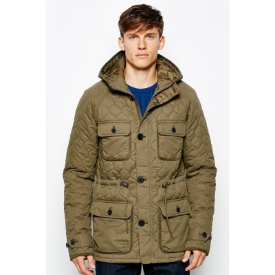 Jack Wills Sigston Quilted Cotton Anorak