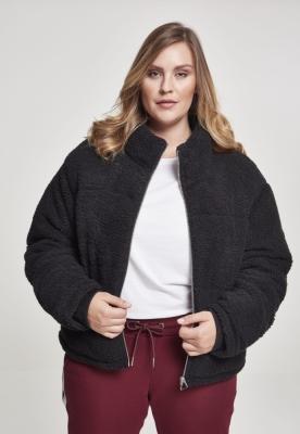 Jachete Boxy Sherpa Puffer pentru Femei Urban Classics