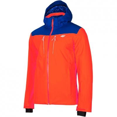 Geaca pentru Ski Men's 4F orange-blue H4Z19 KUMN009 33S