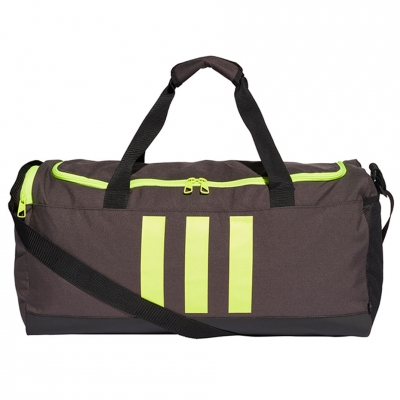 Geanta Adidas Essentials 3- Stripes Duffel M gray-green GN2047