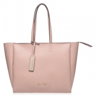 Geanta Calvin Klein din piele Sided Shopper