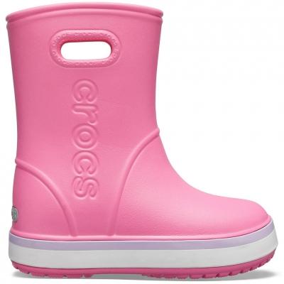 Ghete Ghete sport Crocs rain for Crocband Rain pink 205827 6QM Copil pentru Copil