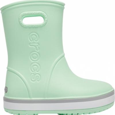 Ghete Ghete sport Crocs rain for Crocband Rain green 205 827 3TO Copil pentru Copil