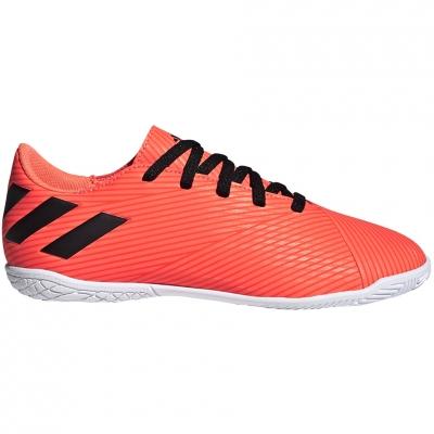 Ghete fotbal adidas Nemeziz 19.4 IN JR orange EH0506