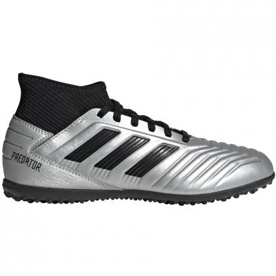 Ghete fotbal adidas Predator 19.3 TF JR silver G25802