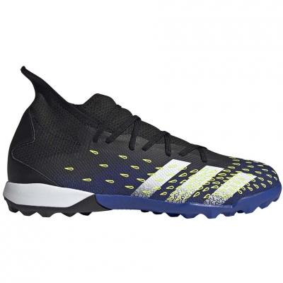 Ghete fotbal adidas Predator Freak.3 TF black and blue FY0623