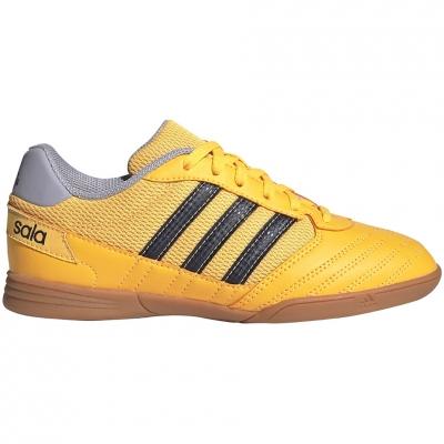 Ghete fotbal adidas Super Sala IN yellow FX6759 Junior