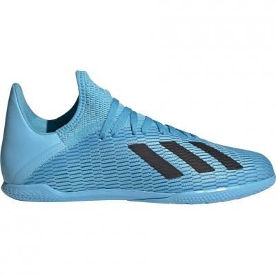 Ghete fotbal adidas X 19.3 IN blue F35354 Junior