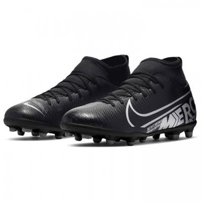 Ghete fotbal Nike Mercurial Superfly Club DF FG Junior