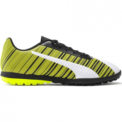Ghete fotbal Puma One 5.4 TT yellow-white-black 105653 03