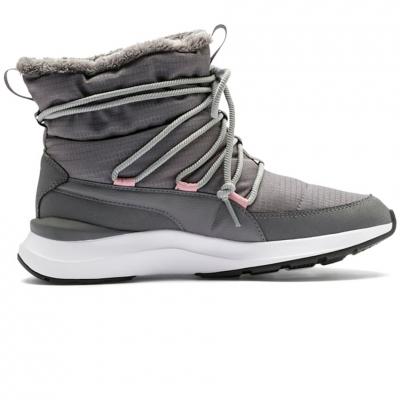 Pantofi sport Ghete de Iarna Puma Adela gray 369862 03 pentru Femei