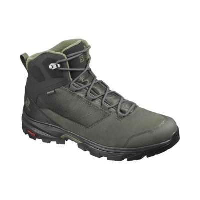 Ghete Drumetie Barbati  Outward Gtx Peat/Black/Burnt Olive Salomon