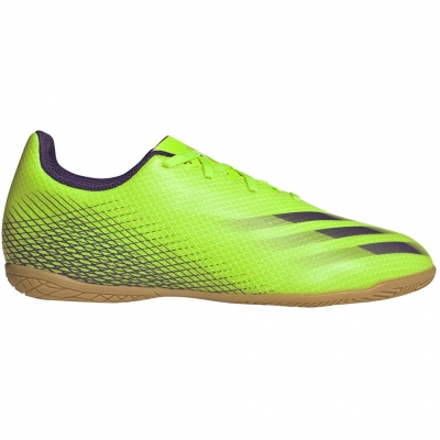 Ghete fotbal Adidas X Ghosted.4 IN green EG8243