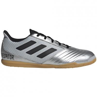Ghete fotbal adidas Predator 19.4 IN Silver room F35630